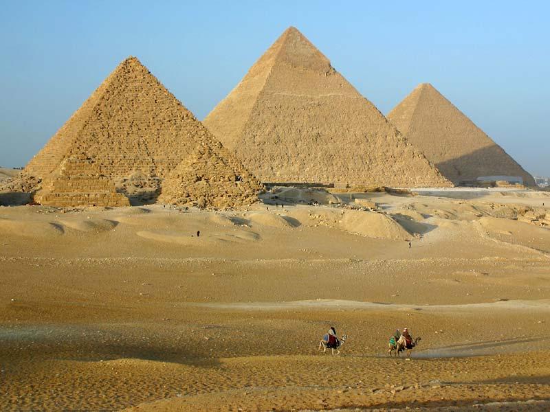 Egito - Gize piramides