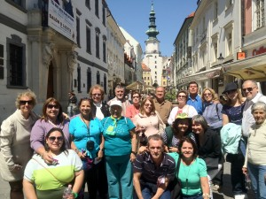 Bratislava, Eslováquia. Grp Pe Geraldo Policarpo