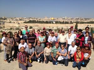 Grp Pe Silas - Monte das Oliveiras - Jerusalém