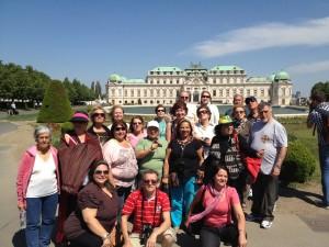 Palácio Belvedere, Viena, Áustria. Grp Pe Geraldo Policarpo