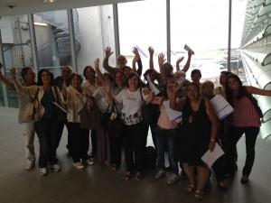 Grupo voltando pra casa. Aeroporto Chales de Gaulle - Paris