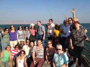 Pe. Manuel Manangão - Barco no Mar da Galiléia