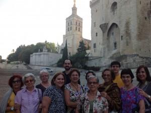Grupo em Avignon