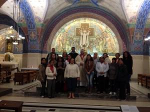 Missa em Lisieux - França