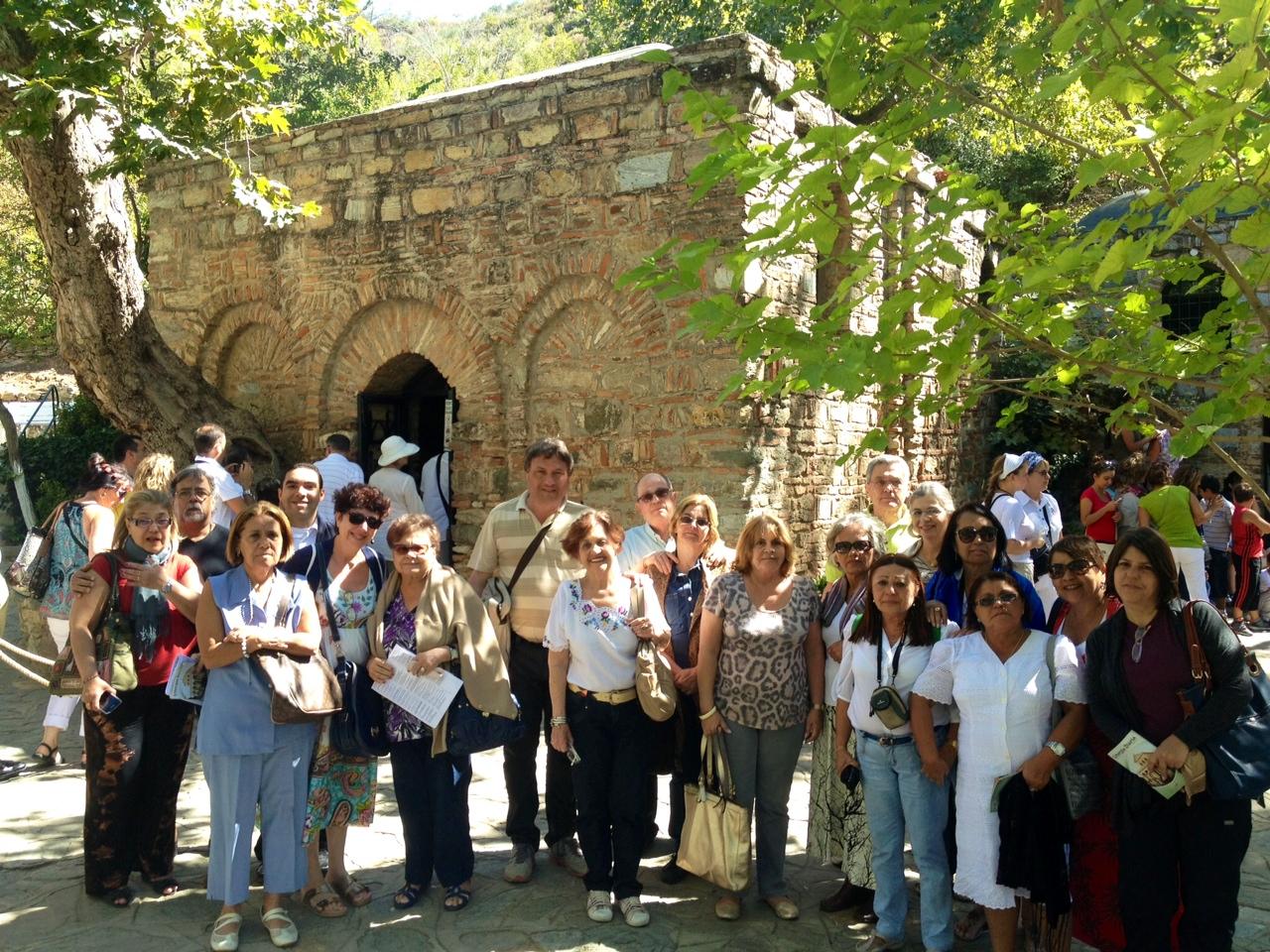 Visita a casa de Nossa Senhora - Éfeso (Turquia)