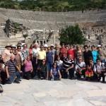 Grupo do Pe. João Bosco na Turquia