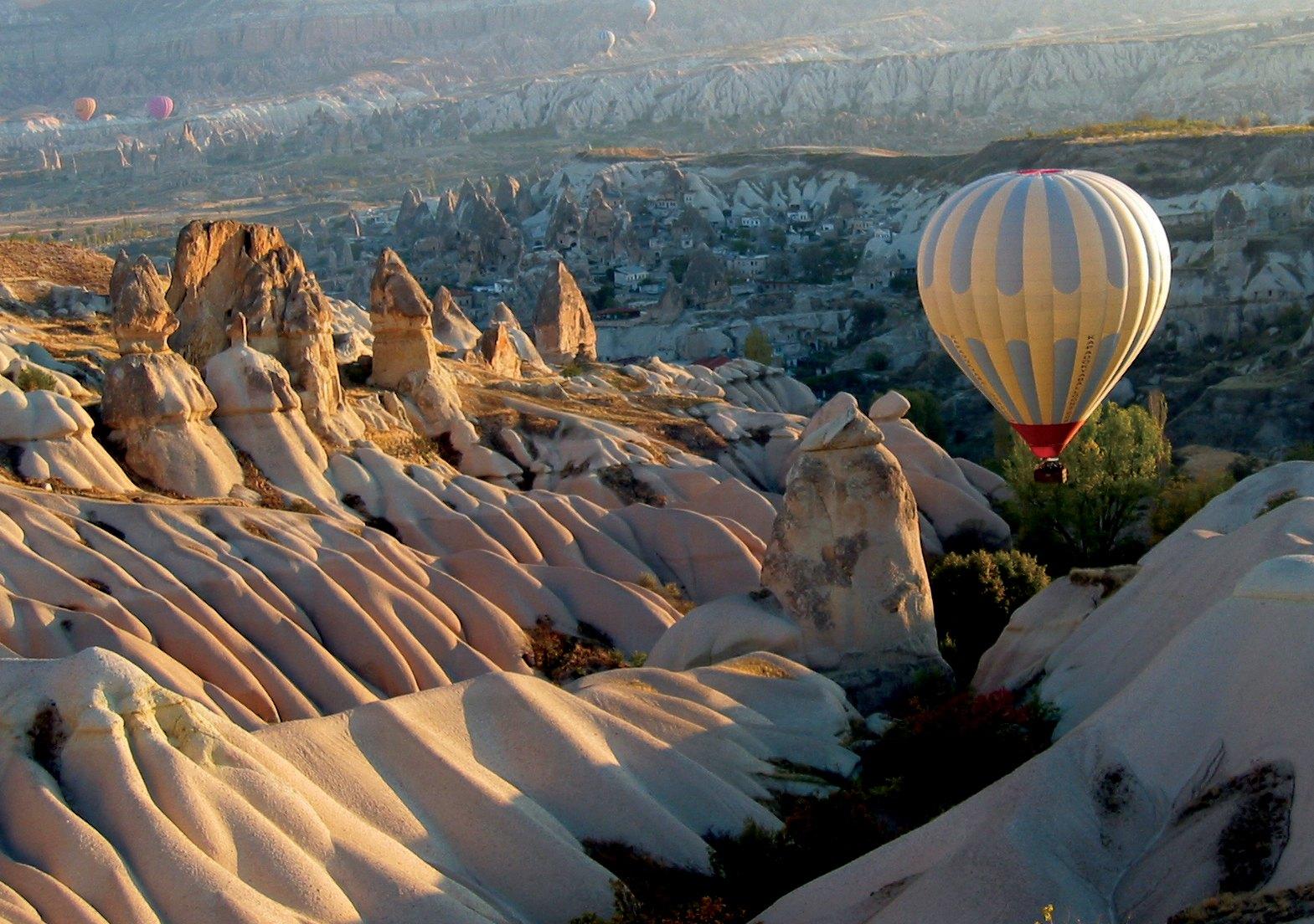 Montanhas da Capadócia - Turquia