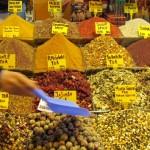 Mercado das Especiarias em Istambul (Turquia)